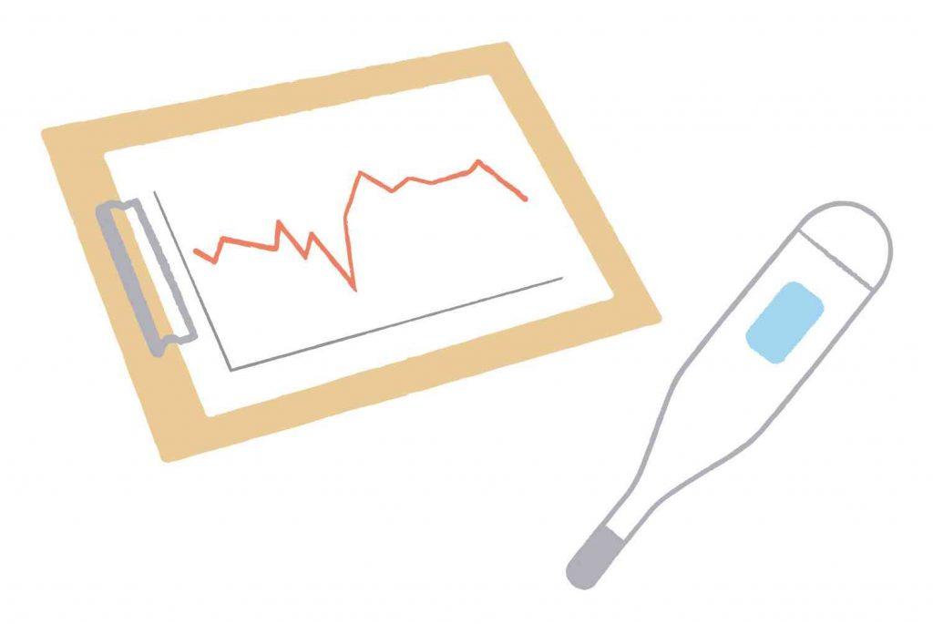 基礎体温の低温期が短い時の4つの原因と改善策について